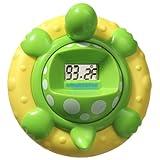 Aquatopia Deluxe Safety Bath Thermometer Alarm, Green ~ Aquatopia