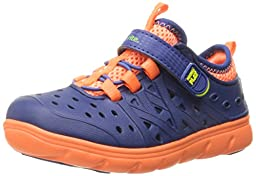 Stride Rite Made 2 Play Phibian Sneaker Sandal (Toddler/Little Kid), Navy, 6 M US Toddler