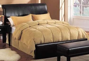 Acme Furniture 05625 Montego Queen Bycast Pvc Bed Headboard and