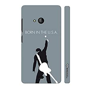 Nokia Lumia 540 Born in the USA designer mobile hard shell case by Enthopia