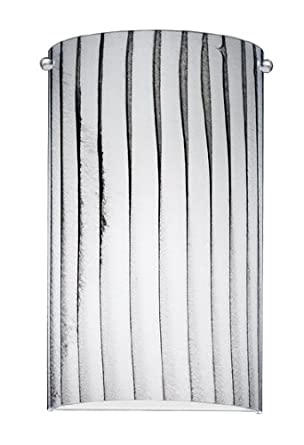 Amazon.com: Nulco Lighting Wall Sconces 1160 F 07 Z Zebra Chrome