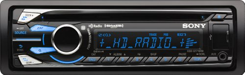 Sony CDXGT710HD Digital Media CD Car Stereo Receiver with HD Radio & Pandora Control (Discontinued by Manufacturer)