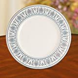 Royal Courtyard Platinum Accent Plate by Lenox China