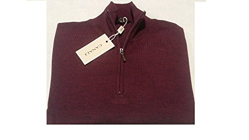 canali-k8190-94-half-zip-pullover-100-extrafine-merinos-wool-made-in-italy-bordeaux-50-bordeaux