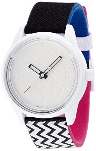 [キューアンドキュー スマイルソーラー]Q&Q SmileSolar 腕時計 ホワイト×パターン RP00J013