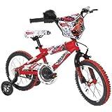 Dynacraft Boy's 14-Inch Hot Wheels Bike, Red/White/Black