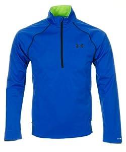 Undrer Armour Men's Coldgear® Infrared Elements Storm ½ Zip Jacket (Medium, Blue)
