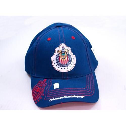 CHIVAS de GUADALAJARA OFFICIAL TEAM LOGO CAP / HAT   CV009