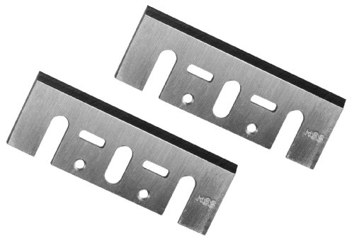 POWERTEC 128342 3-1/4-Inch HSS Planer Blades for DeWalt DW6655 FDW677, DW678, and DW680K, Set of 2
