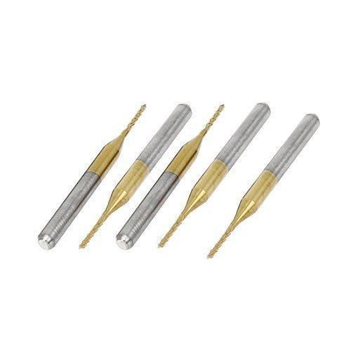 sourcingmap-3175mmx1mmx7mm-titanium-coated-pcb-cnc-micro-router-drill-bits-5pcs