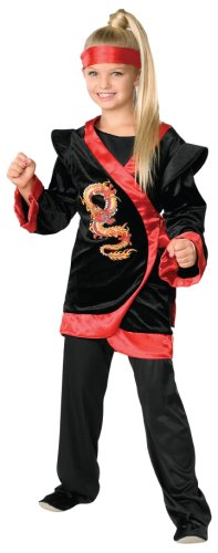 Childs-Red-Dragon-Ninja-Costume-Medium