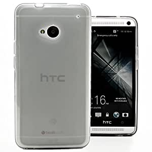 Hyperion HTC One M7 TPU Case and Screen Protector (Compatible with Sprint HTC One, T-Mobile HTC One, and AT&T HTC One Phones) **Hyperion Retail Packaging** (Matte Smoke)