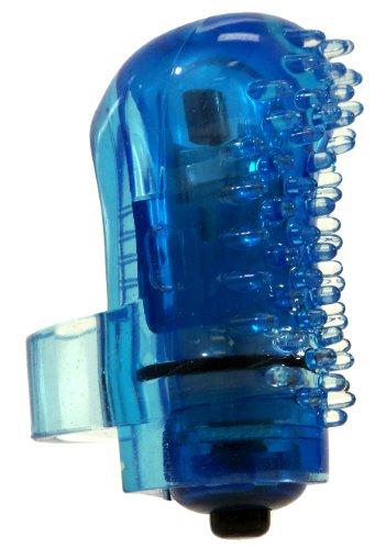 The Screaming O Fing O Finger Fitting Mini Tingly Textured Blue Vibrator
