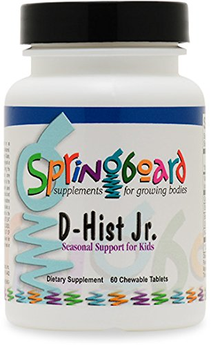 Ortho Molecular Products Natural D-Hist Junior 60 tablets