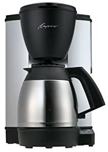 Capresso 440.05 MT-500 10-Cup Electronic Coffeemaker with Thermal Carafe