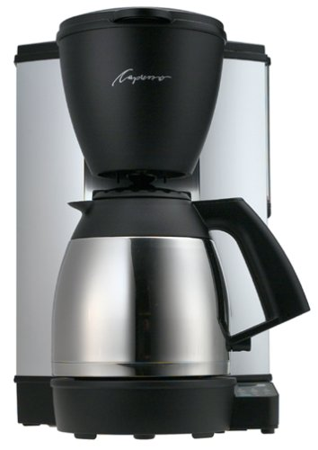Capresso 440.05 Mt-500 10-Cup Electronic Coffeemaker With Thermal Carafe front-540614
