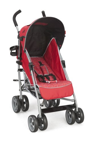 Cheap Delta Children LX Stroller, Red