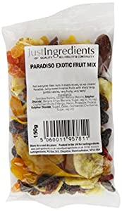 JustIngredients Paradiso Exotic Fruit Mix 150g (Pack of 6)