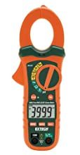 Extech Instruments 400A True Rms Ac/Dc Clamp Meter with Nist