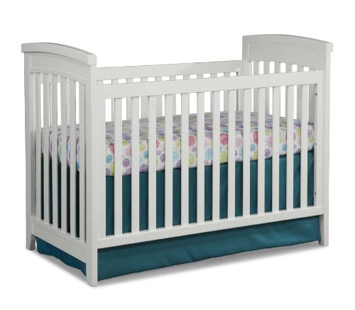 Imagio Baby Midtown 3 in 1 Cottage Crib, White - 1
