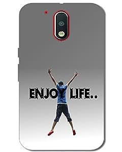 MobileGabbar Motorola Moto G4 Plus Back Cover Plastic Hard Case