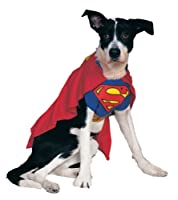 Rubies Costume DC Heroes and Villains Collection Pet Costume - Superman by Amazon.com, LLC *** KEEP PORules ACTIVE ***