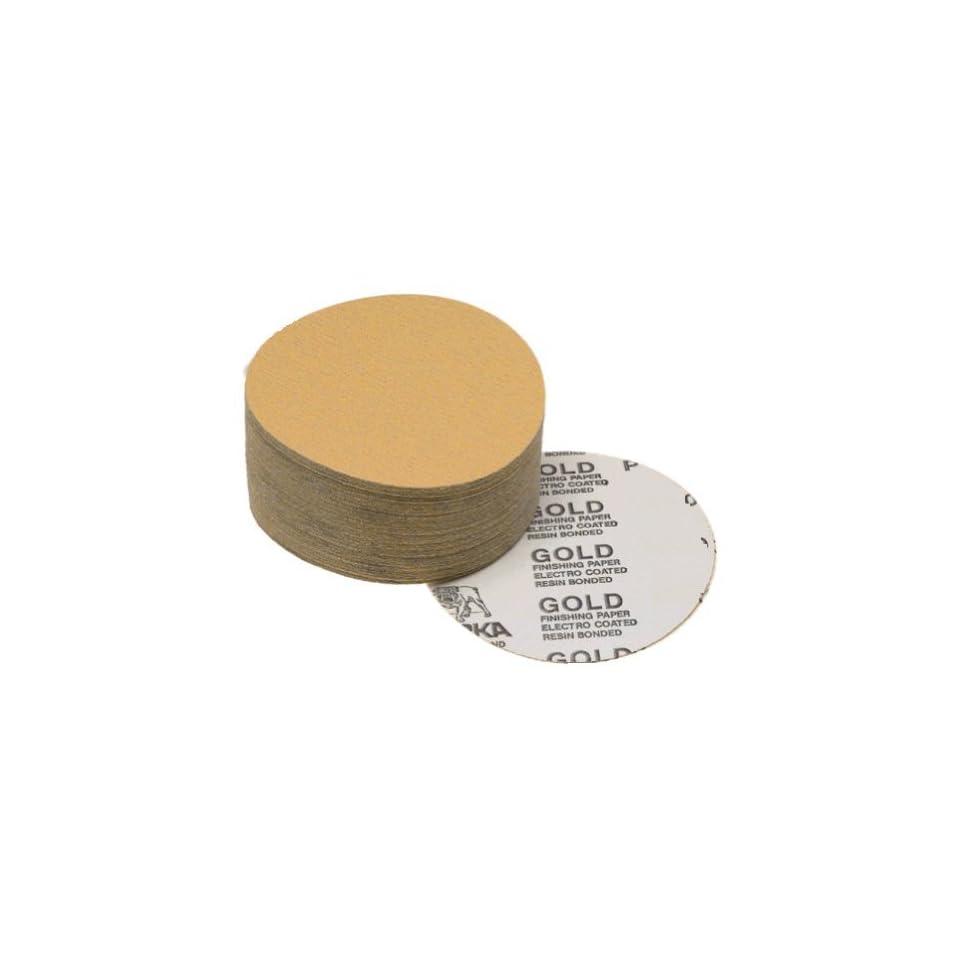Mirka 23-314-180 Bulldog Gold 5-Inch PSA Linkrol Disc with 180 Grit