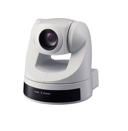 Sony 1/4-Inch CCD Pan/Tilt Zoom Color NTSC Video Camera (White) EVI-D70W