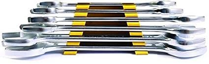 Stanley 70-378E Matte Finish Double Open End Spanner Set Image