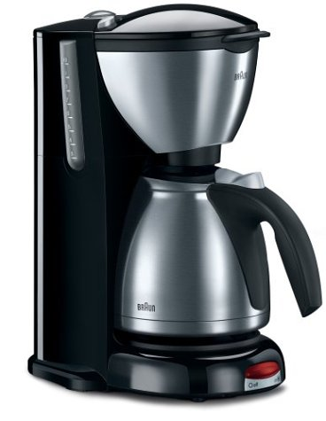 Braun Coffee Maker KF600: 10 Cups Brewed with Finesse