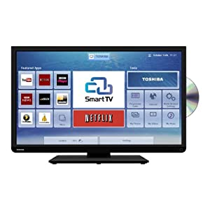 """Toshiba 32D3453 LED HD Ready Smart TV/DVD Combi Wi-Fi 32"""" with Built-in Freeview HD (discontinued by manufacturer)"""