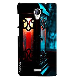 Omnam Candle Burning In Night Lamp Printed Designer Back Cover Case For Micromax Unite 2 A106