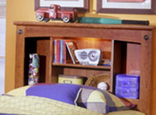 Image of City Park Kids Full Slat Headboard In Cherry Finish by Standard Furniture (B007AYMWZ0)