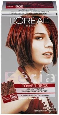 loreal-feria-power-reds-permanent-haircolour-gel-r68-ruby-rush-1-each-pack-of-3-by-loreal-paris