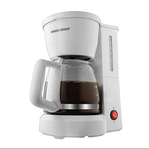 Ap Exit 9 5-Cup Drip Coffeemaker with Glass Carafe, White (Kenmore Oven Broiler Pan compare prices)