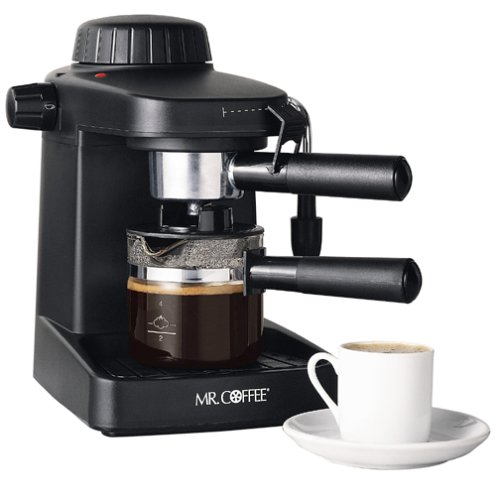 Mr Coffee Espresso Maker ~ Mr coffee ecm steam espresso and cappuccino maker