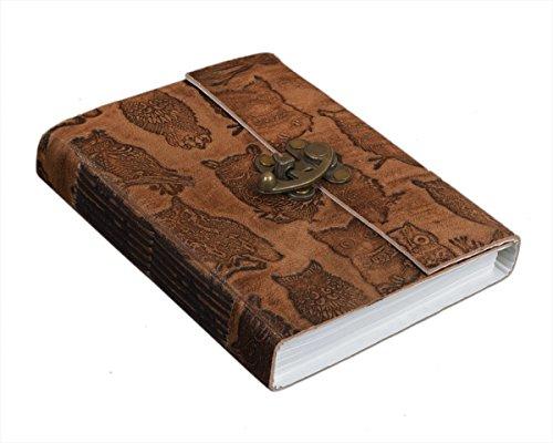 weihnachtsgeschenke-handgefertigte-gelbe-leder-gebunden-zeitschrift-tagebuch-notebook-hand-gepragt-m