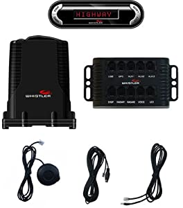 Whistler PRO-3600 Pro Series Installed Remote Laser-Radar Detector