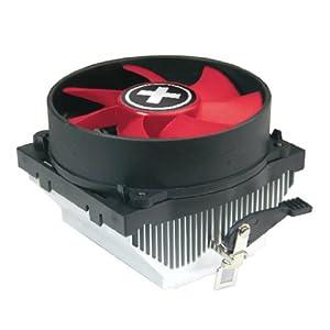 Prozessorkühler - ( Socket 754, Socket 940, Socket 939, Socket AM2, Socket AM2+, Socket AM3 ) - Schwarz / Rot