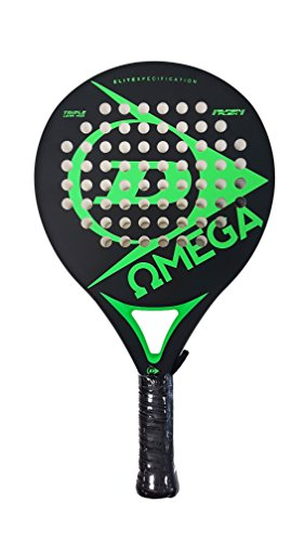Dunlop Omega - Pala de pádel, color verde