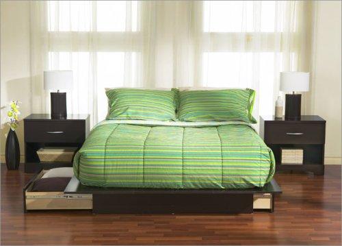 South Shore 3159 Series Platform Bedroom Furniture Set