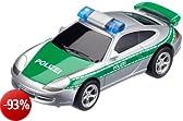 Carrera 61112 - GO!!! - Porsche GT3 della polizia, colore: Argento/Grigio
