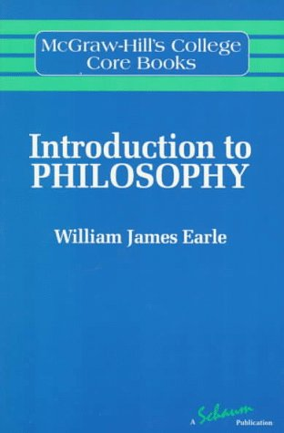Introduction To Philosophy, William James Earle