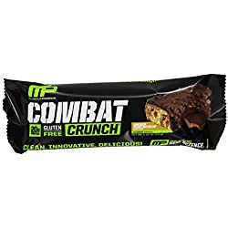 12-Pack Muscle Pharm Combat Crunch Supplement - Chocolate Peanut Butter