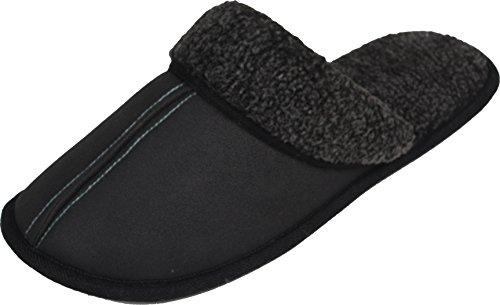 luxehome-hommes-anziehen-polystyrene-pour-interieur-exterieur-fluff-chaussures-pantoufles-1-05-gris-