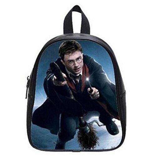 LilyFavor Harry Potter Funny Moviecustom Zaino with Black School Borsa(Large)