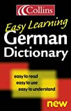 Easy Learning German Dictionary (000472402X) by ANON.