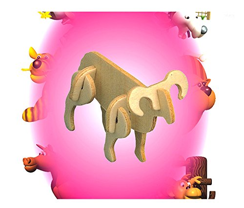 Puzzled 3D Mini Sheep Party Pack (12 Units) - 1
