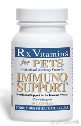 Immuno Support 60 Caps By Rx Vitamins For Pets