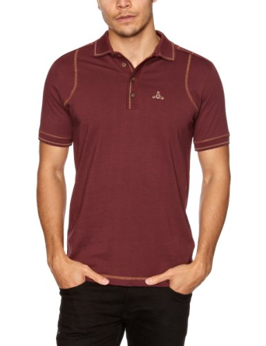 Duck and Cover Mooney Men's T-Shirt Wine, Medium